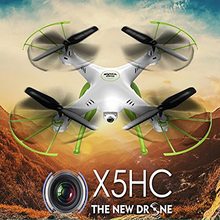 SYMA X5HC 4-CH 2.4GHz 6-Axis Gyro HD Camera RC Quadcopter with With 2MP HD Camera AUTO Hovering Headless Mode RC Drone SYMA