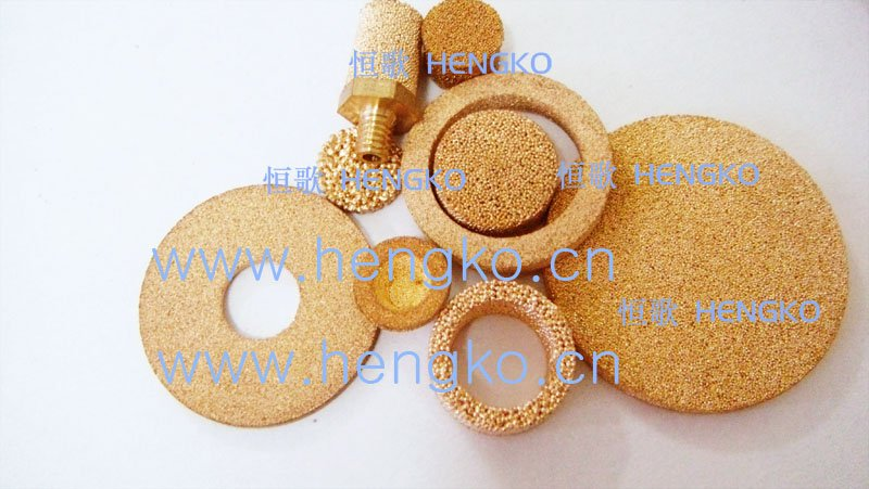 D8.1*H2 Stainless bronze powder sintered filter disk(China (Mainland))