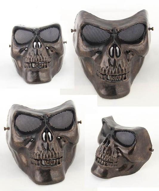 Skull Mask Retro Protection Paintball Airsoft Gun Masks Halloween Horror Masks