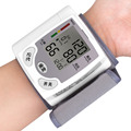 Home Health Care Automatic Digital LCD Wrist Watch Blood Pressure Monitor Sphygmomanometer Heart Beat Rate Pulse
