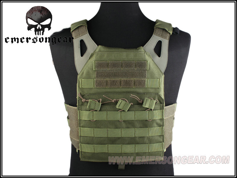 EMERSON JPC Tactical Vest - paperback edition, Military Tactical Series Airsoft Paintball Shooting MOLLE Vest Army Green EM7344G<br><br>Aliexpress
