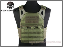 EMERSON JPC Tactical Vest - paperback edition, Military TC SE Airsoft Paintball Shooting MOLLE Army Green EM7344G EMERSON-Guevara outdoor goods store