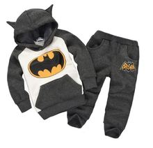 winter children s clothing suits batman kids hoodies pants 2 pcs children sports suit boys clothes