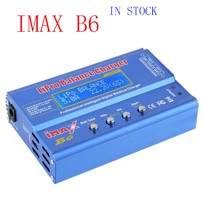 IMAX B6 Balance Charger Digital Charger Discharger Discharger For RC Helicopter Battery Charging Re-peak Mode for NIMH/NICD(China (Mainland))