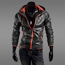 Fashion Men's Anti-UV Hooded Jacket,Casual Men's Zipper Sun protective Hooded Coat.Quality/Plus Size
