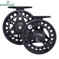 Fly Fishing Reels Classic Aluminium 2 1 BB Bass Trout Salmon Carp Fly Fishing Wheel Pesca