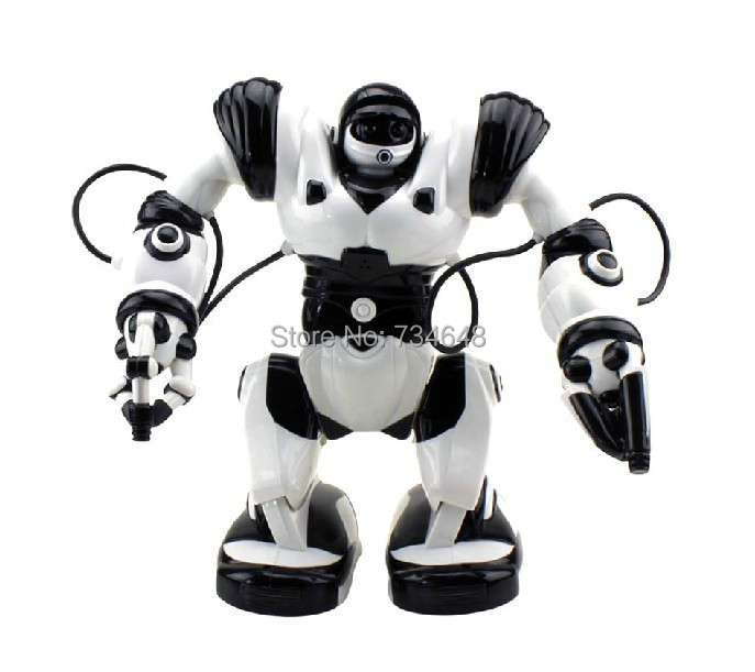 Big Size Roboactor Smart Voice Control Remote Control Programmable RC Robots II SUPPORT RUSSIAN VOICE TALKING(China (Mainland))