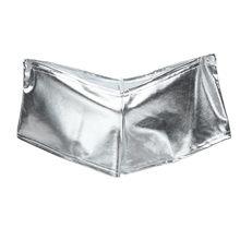 PU Patent Deri Şort Glitter Seksi Kutup Dans Boot Şort Mini Kısa Kadın gece elbisesi Pantalón Corto Seksi Külot Şort(China)