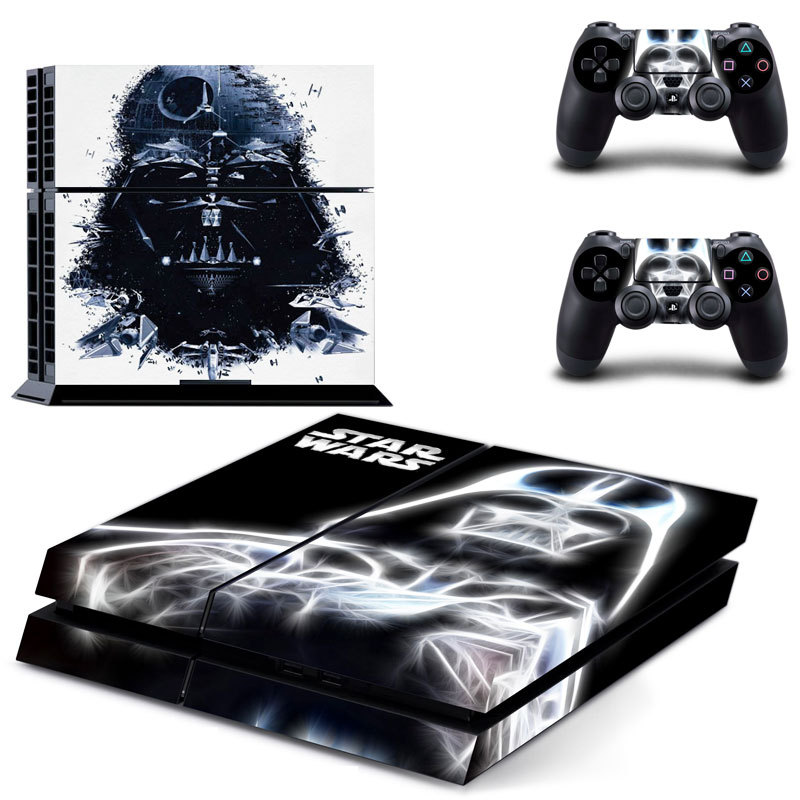 Vinyl For Star Wars PS4 Sticker For Sony Playstation 4 Console 2 controller Skin Sticker For
