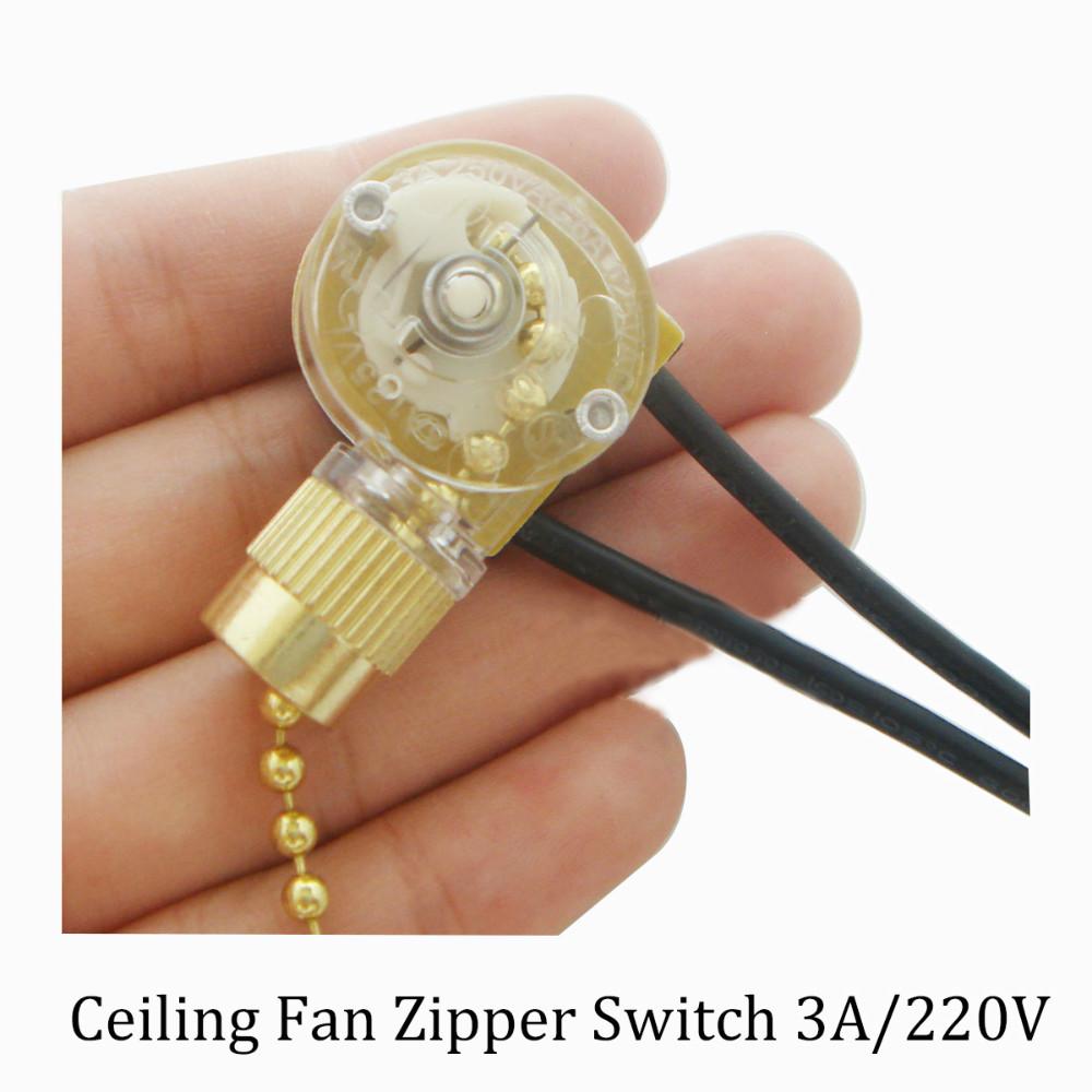 Aliexpress Com Buy Lamp Zipper Switch Ceiling Fan Switch