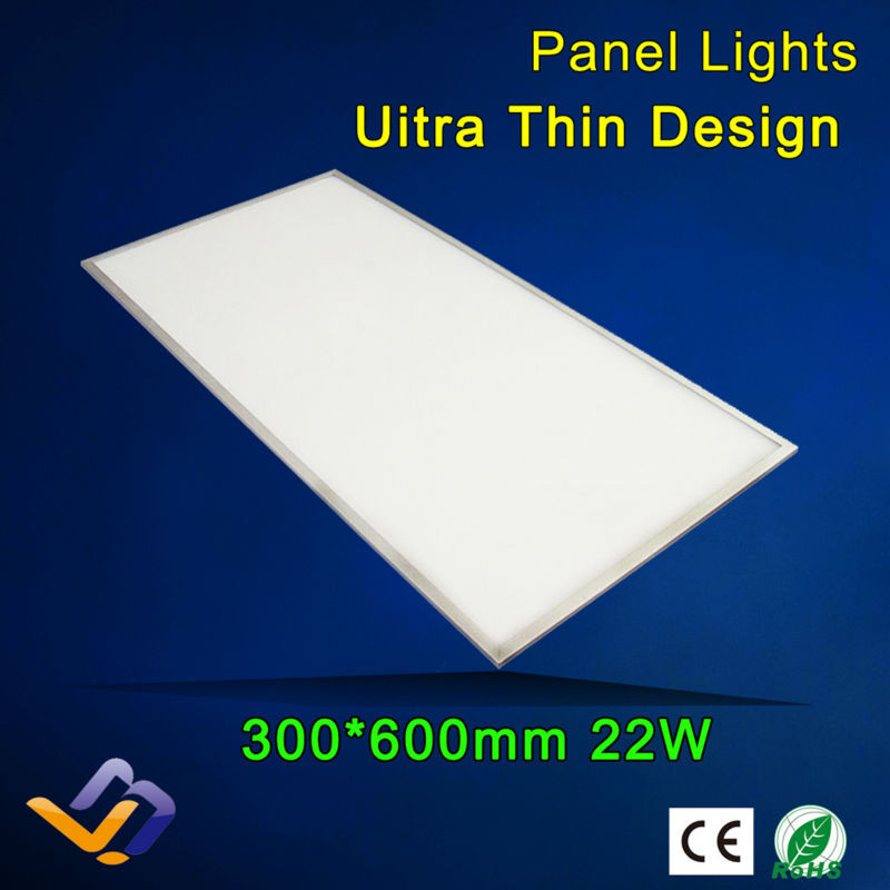 Led panel lights 22w 300x600,85-265V AC, integrated ceiling light led panel light led lighting ,3years warrantly(China (Mainland))