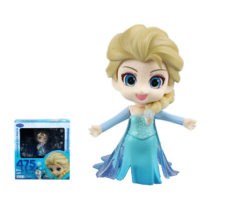 Princess Elsa Nendoroid Movie Comic Game font b Anime b font PVC Figure Ice Fairy Tale