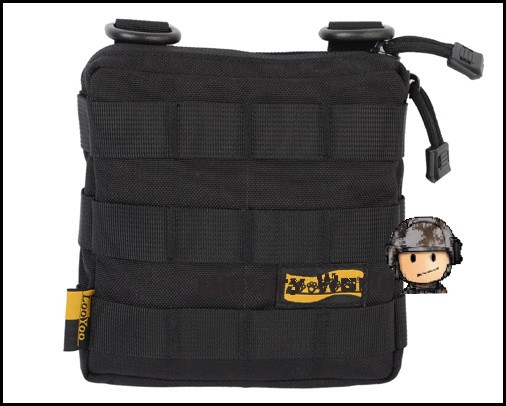 LooYoo A12 Tactical Military 1050D MOLLE Multiuse Outdoor Sports Activities Accessory Durable Small Waist Bag Shoulder Bag Pouch
