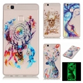 Luminous Case For Huawei P9 Lite Ultra thin Night Light Soft Gel Anti Skiding Silicon Cell