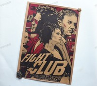 Fight club Movie Vintage Paper Posters Retro art Wall Decoration 30X42 CM