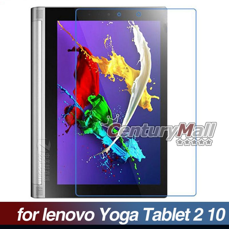 3pcs New Front Clear Transparent Lcd Screen Protector Film Guard for Lenovo Yoga Tablet 2 10 1050F 10.1 Wholesale BL1B024(China (Mainland))