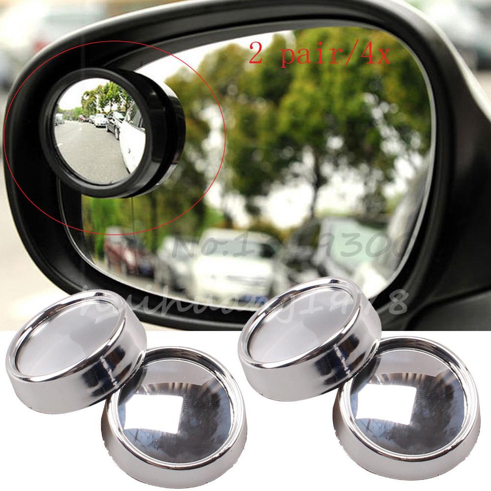4x широкоугольный выпуклый автомобиль слепое пятно круглый придерживайтесь-на зеркало заднего вида сбоку
