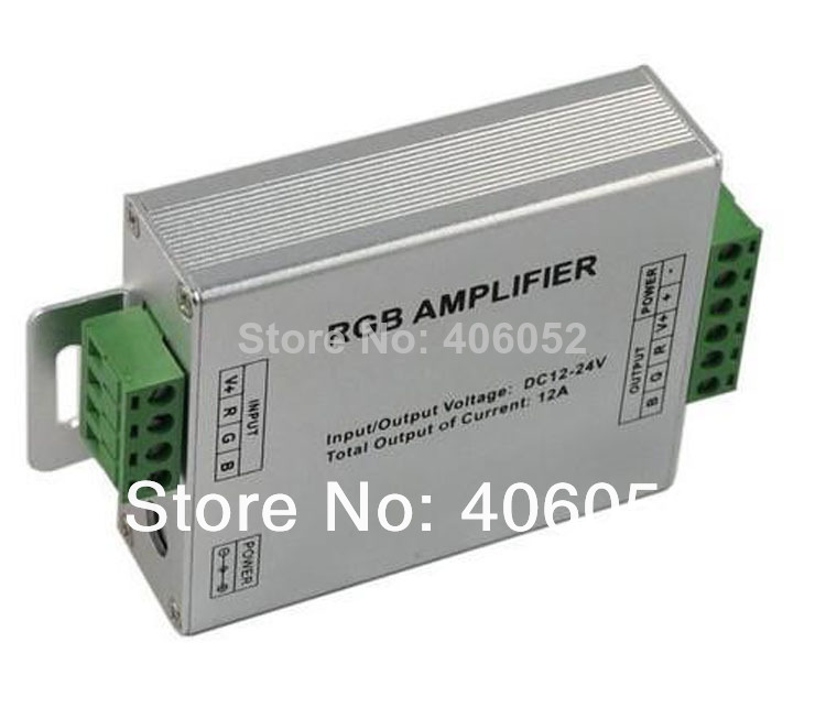 LED RGB Controller ,LED RGB Amplifier;DC5-24V Input, 24A Current used for 3528&5050 SMD RGB LED Strip Light(China (Mainland))