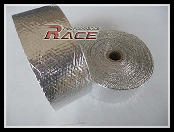 ALUMINIZED  exhaust wrap,Thermal Wrap,exhaust insulating warp,header warp ,exhaust pipe warp with high quality  RT850A  SILVER