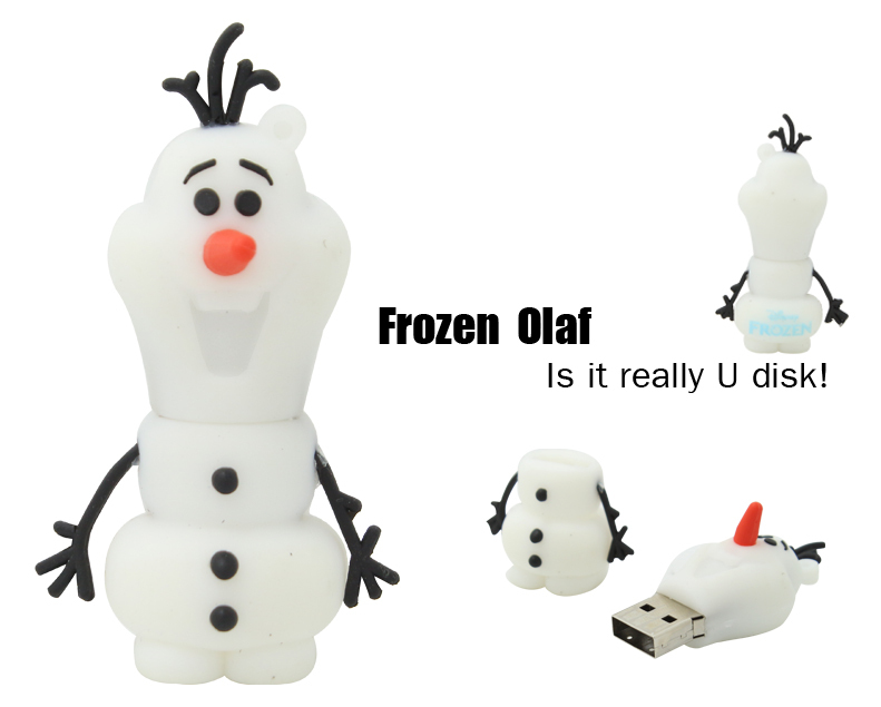 New usb flash drive Cute snowman pen drive 32G/16G/8G/4G pendrive usb stick usb 2.0 memory stick flash card gift Free Shipping(China (Mainland))