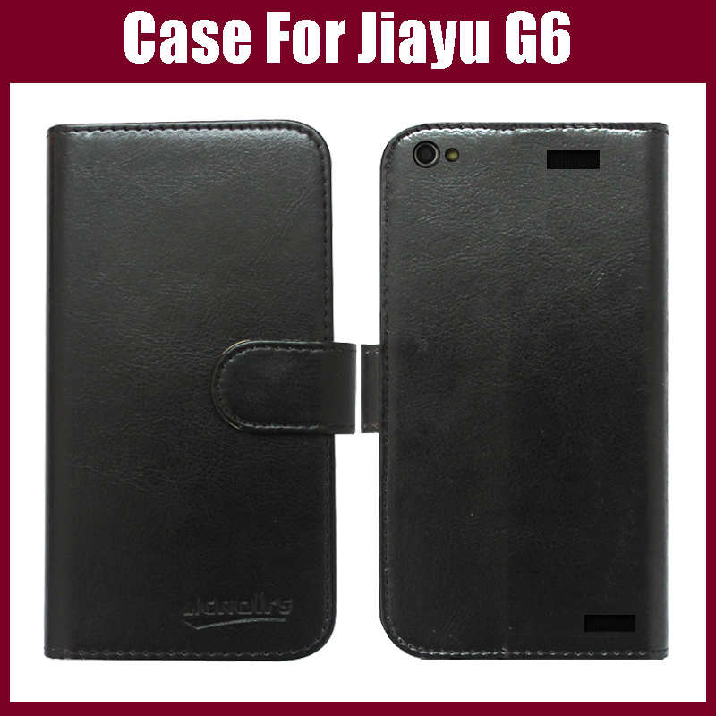 Hot! Jiayu G6 Case,High phone leather case Jiayu G6 protector phone six colors choice Card stock jiayu case.