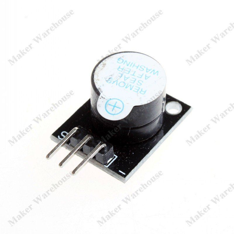 Keyes Active Speaker Buzzer Module for Arduino (Works with Official Arduino Boards)(China (Mainland))