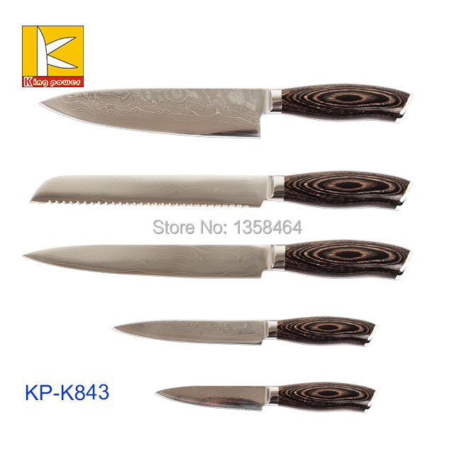 high quality stainless japan damascus steel kitchen knife