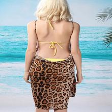 Spring Fashion woman Leopard harness Shuiqun Chiffon wild bottoming shirt beach sun sexy nightgown mantillas(China (Mainland))