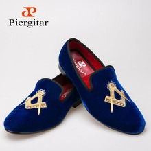 Exquisite embroidery pattern Velvet Men shoes Men Wedding and Party Loafers Men Flats Size US 6-13 Free shipping(China (Mainland))