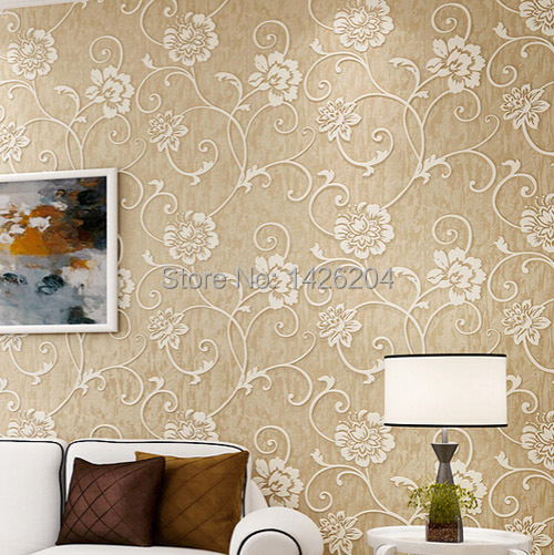 Ventas directas de la f brica moderna 3d wallpaper rollo for Papel pared salon