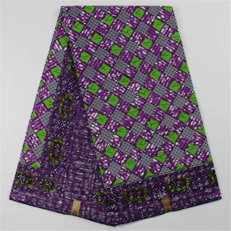 African wax prints fabric cotton material super wax for Fabric material for sale