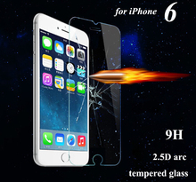 Premium Tempered Glass Screen Protector for iPhone 6 6S Toughened protective film For iPhone 6 4.7inch With Retail Package
