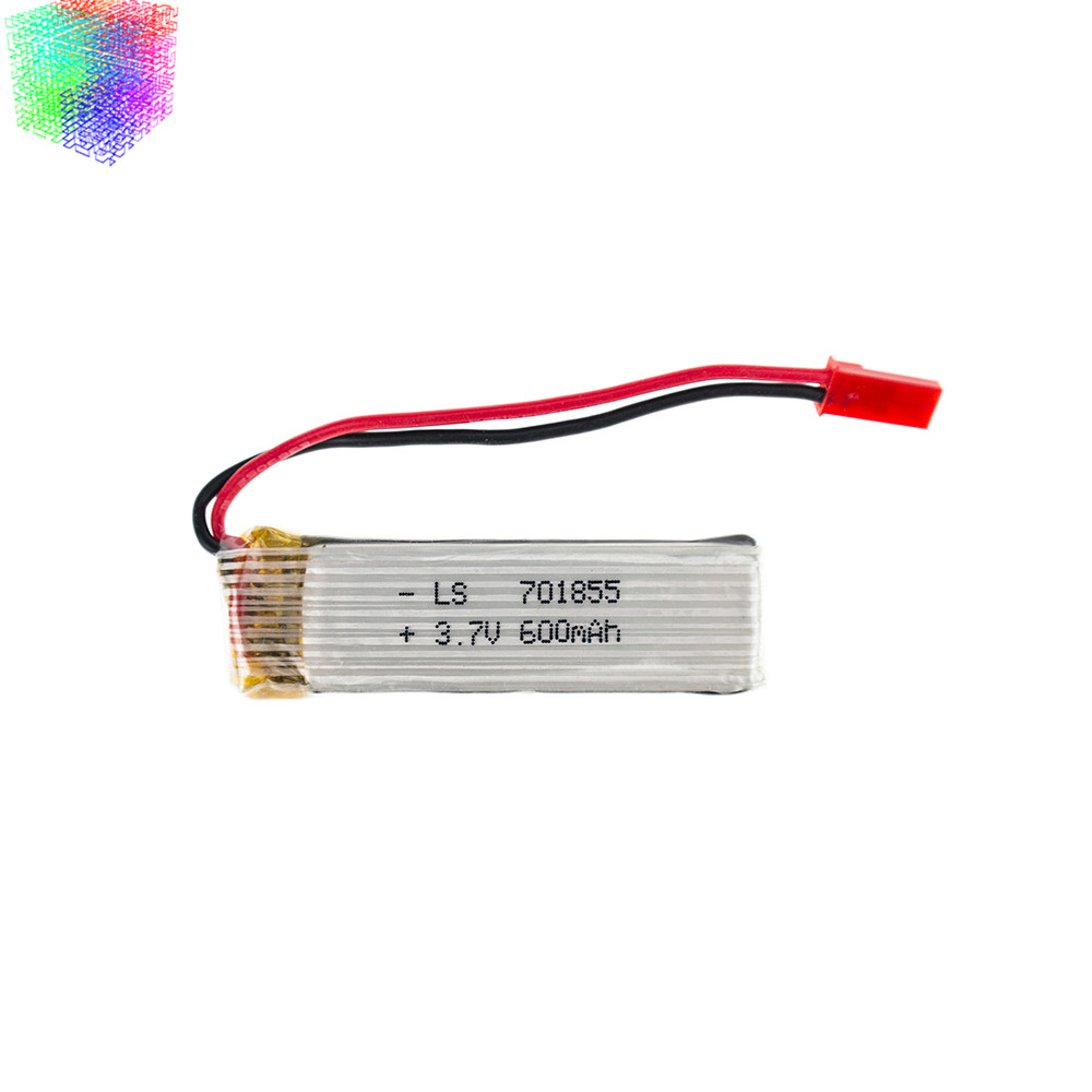 3.7V 600mah Lipo battery JST plug for UDI u817 u817a u817c u818a syma s032 rc Quadcopter Airplane drone Spare Part(China (Mainland))