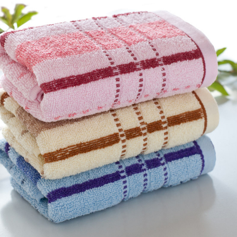 Hot Factory Direct 100% Cotton Towel Wholesale Advertising Wander High Quality Soft Face Towels V2786(China (Mainland))