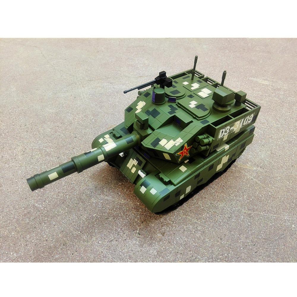 1x MENG KIDS mVEHICLE-001 Chinese Main Battle Tank Q Edition Military Model Kits NICT(China (Mainland))