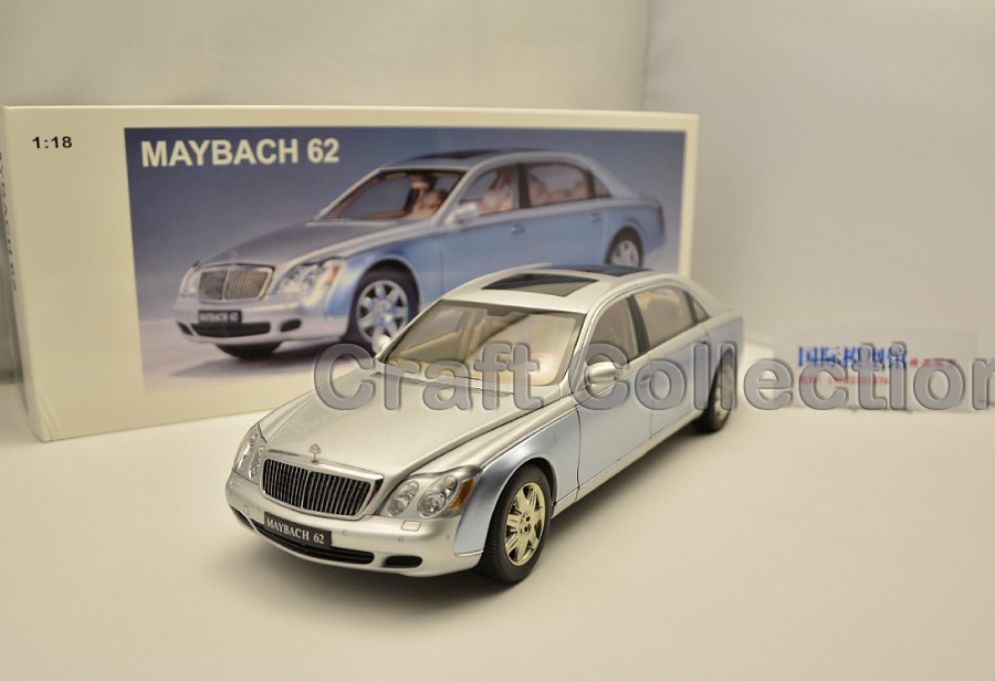 *1:18 AutoArt AA Maybach 62 Diecast Model Car Luxury Gifts Collection Mini Model Car Kits Limitied Edition(China (Mainland))