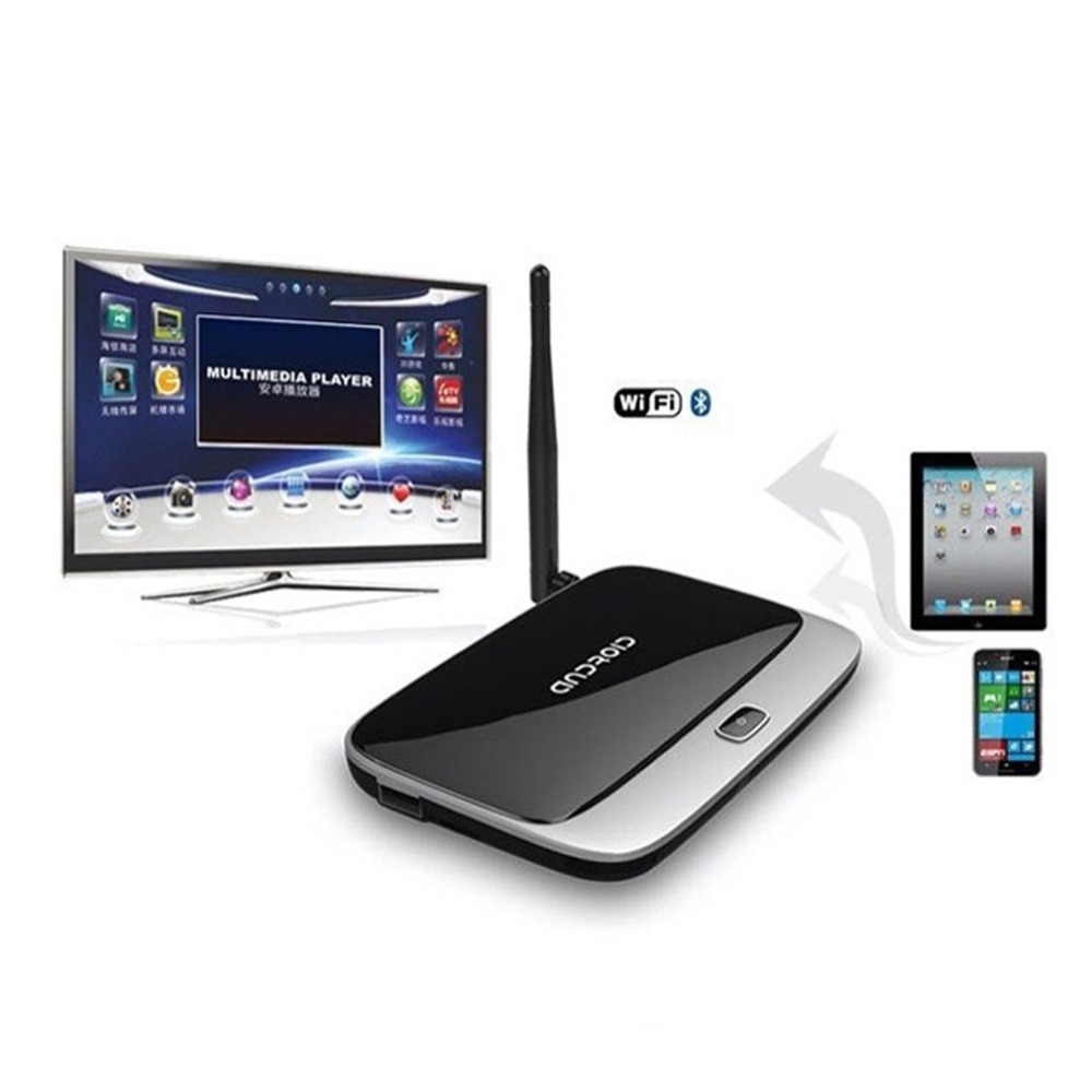 CS918 Android 4 2 TV Box Player RK3188 Quad Core 2GB 8GB WiFi 1080P with Remote