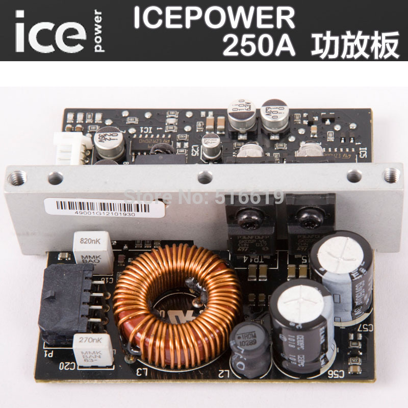 ICEPOWER power amplifier fittings Digital power amplifier module ICE250A Professional power amplifier board(China (Mainland))