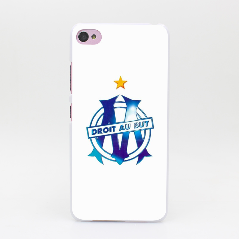 1490HZ The Olympic Marseilles football club Hard White Case Cover for Lenovo S60 S90 S850 A536 A328(China (Mainland))