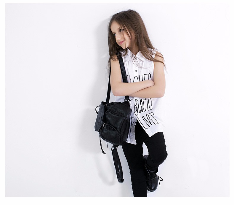 2016 Summer Teens Girls Clothes Kids White Blouse Tank Top Vest Children's Clothing for Age 5 6 7 8 9 10 11 12 13 14T Years Olds