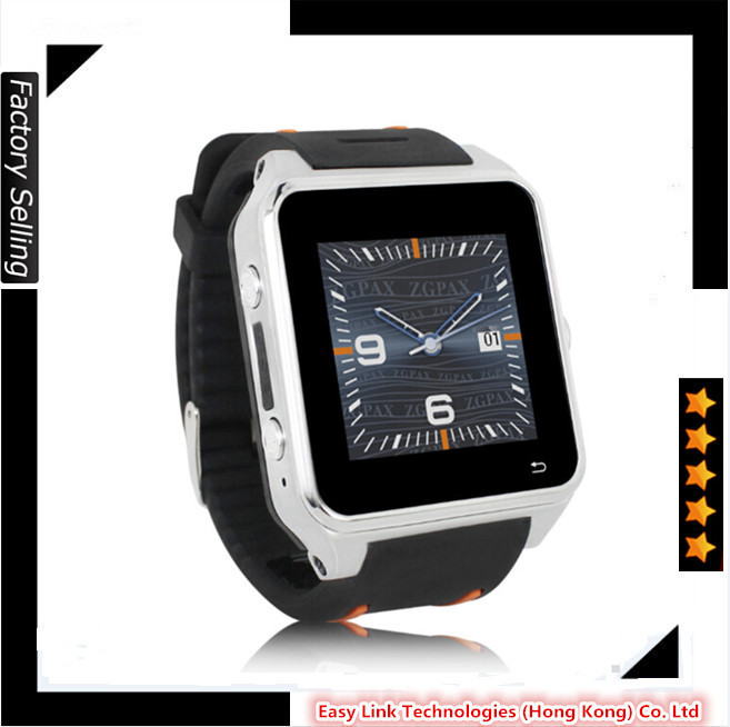 New Style 3G Android smart watch original Mini Mobile Phone GPS wifi bluetooth dual core mobile phone smartwatch(China (Mainland))