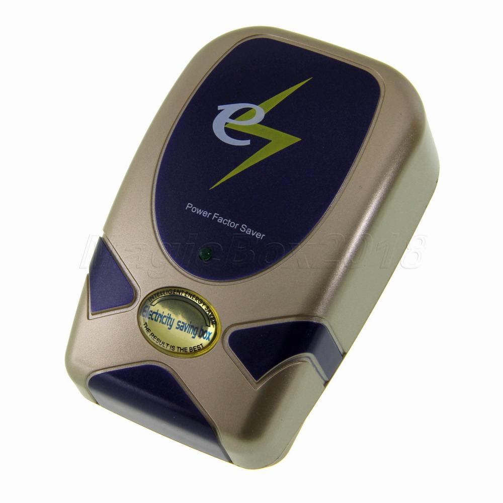 28KW Electricity Saving Box Electronic Energy Power Saver Electric Saver Device Power Factor Saver EU Plug Save up to 30% SD001(China (Mainland))