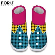 FORUDESIGNS Fashion Ankle Boots de Las Mujeres Patrón de Algodón A Cuadros Impermeable Botas de Lluvia Para Las Señoras Corto Caliente Botas de Nieve de Invierno de Zapatos de Algodón(China (Mainland))