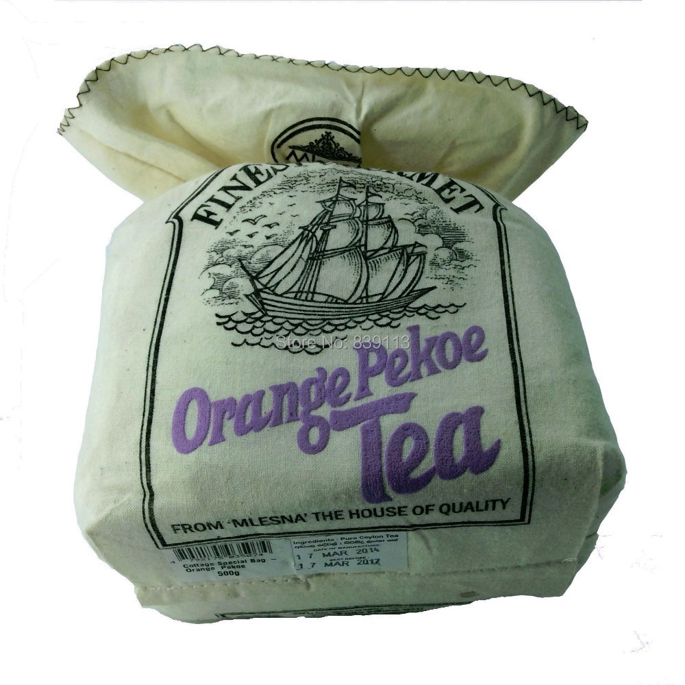 CL Hot Pure organic Ceylon tea Mlesna OP grade black tea 500g 17 63oz