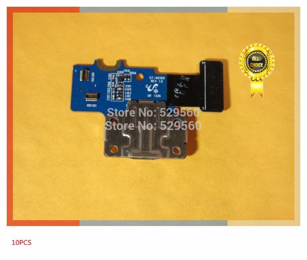 100%рабочий оригинальный Разъем Док-станции зарядное устройство USB для зарядки порт Flex кабель для Samsung Галактики Примечание 8.0 N5100  10шт