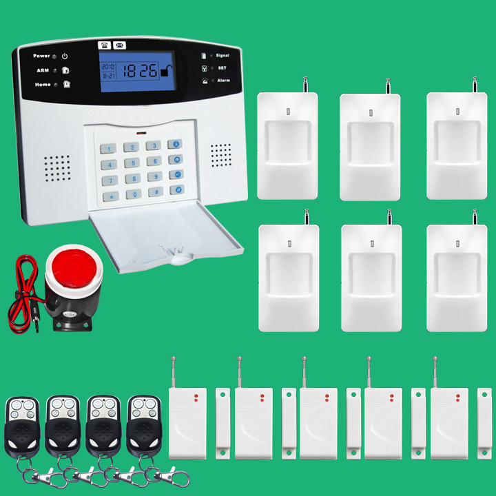Фотография Hot selling home intercom Security GSM alarm system with English Russian Spanish French Voice version 850/ 900/1800/1900Mhz