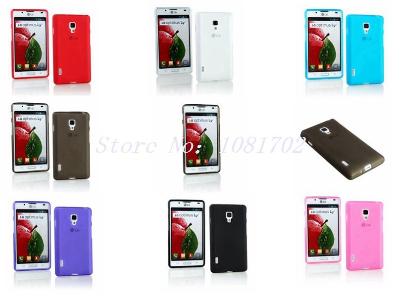 Soft TPU Case Cover For LG Optimus L7 II P710 One SIM(China (Mainland))