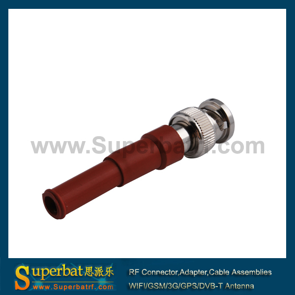 BNC male high voltage power connector MHV 3000V RG59