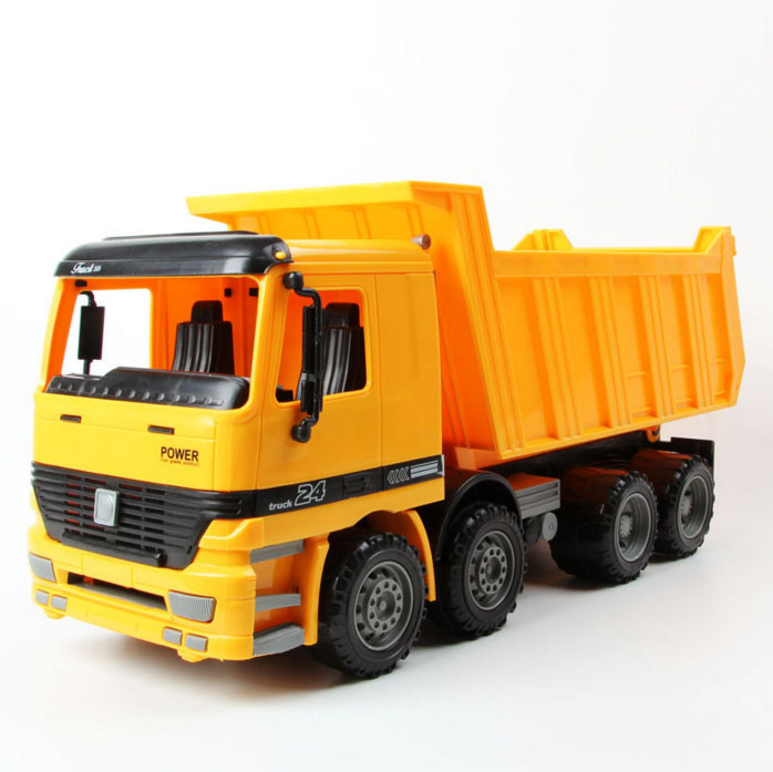 Big Size Large Jumbo Sandbox Vehicle Dump Truck, Sand Transport on Beach Children's Toys Free Shipping(China (Mainland))