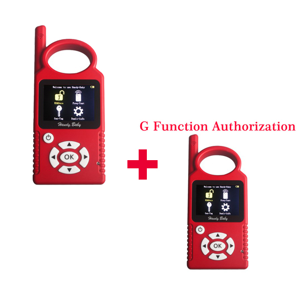 Handy Baby Hand-held Car Key Copy Auto Key Programmer for 4D/46/48 Chips Plus G Chip Copy Function Authorization(China (Mainland))